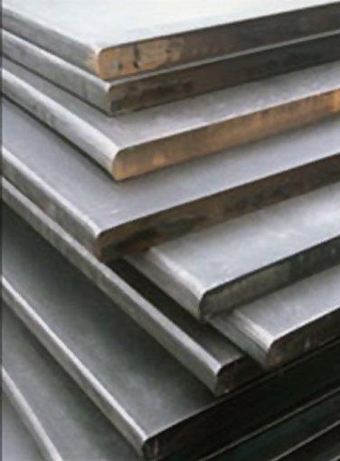 6X6 FE Bare Steel Plate