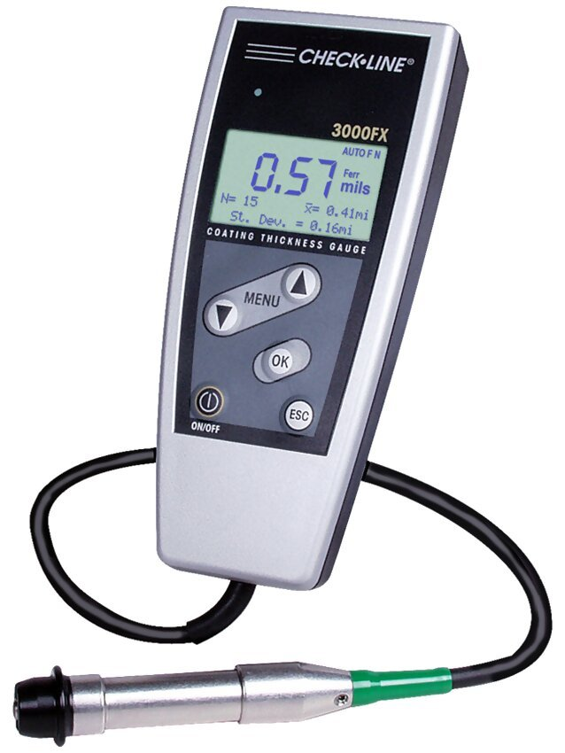 Checkline 3000FX Series Coating Thickness Gauge