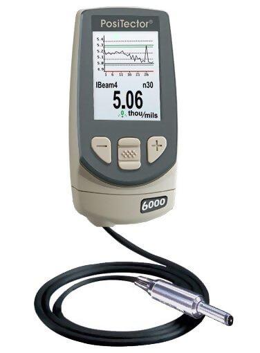 DeFelsko F0S3-E PosiTector 6000 F0S3 Advanced Ferrous Coating Thickness Gage