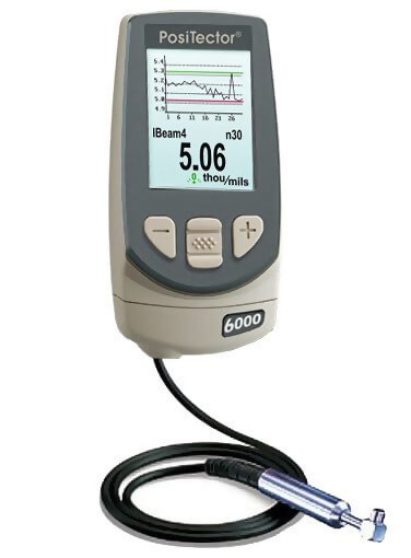 DeFelsko F90S3-E PosiTector 6000 F90S3 Advanced Ferrous Coating Thickness Gage