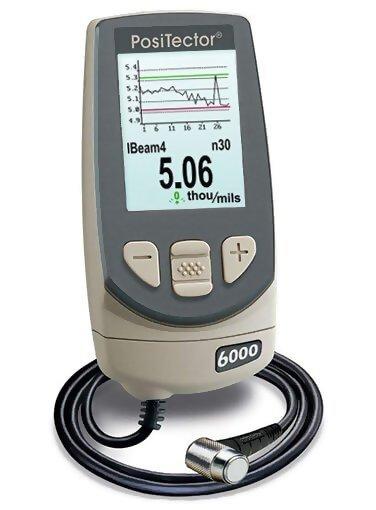 DeFelsko FTRS3-E PosiTector 6000 FTRS3 Advanced Ferrous Coating Thickness Gage
