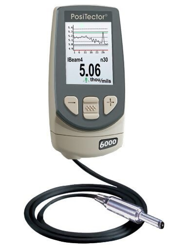 DeFelsko N0S3-E PosiTector 6000 N0S3 Advanced Non-Ferrous Coating Thickness Gage