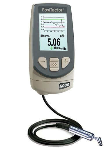 DeFelsko N45S3-E PosiTector 6000 N45S3 Advanced Non-Ferrous Coating Thickness Gage