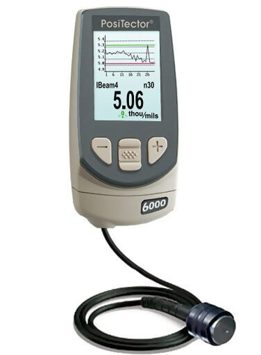 DeFelsko NKS3-E PosiTector 6000 NKS3 Advanced Non-Ferrous Coating Thickness Gage