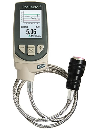DeFelsko PosiTector 6000 Adv FHXS3 Hi Temperature Coating Thickness Gauge