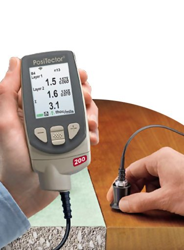 PosiTector 200 Ultrasonic Coating Thickness Gauge