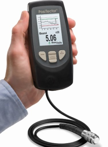 PosiTector 6000 Advanced FXS3-E Coating Thickness Gauge with FHXS Xtreme Probe
